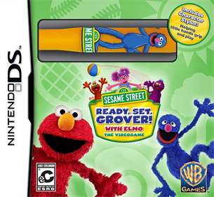 123 Sesame Street  Ready, Set, Grover!  With Elmo  The Videogame