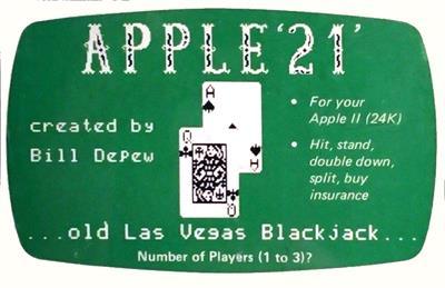 Apple '21'