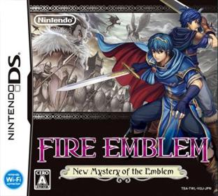 Fire Emblem: Shin Monshou no Nazo, Hikari to Kage no Eiyuu - Fanart - Box - Front