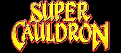 Super Cauldron - Clear Logo