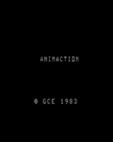 AnimAction - Screenshot - Game Title