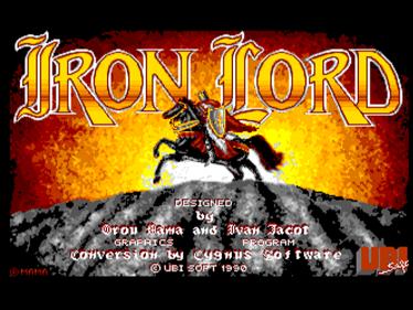 Iron Lord - Screenshot - Game Title