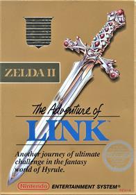 Zelda II: The Adventure of Link - Box - Front