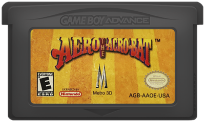 Aero the Acro-Bat - Cart - Front