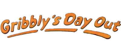 Gribbly's Day Out - Clear Logo