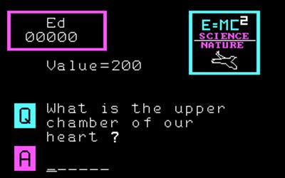 3-K Trivia - Screenshot - Gameplay