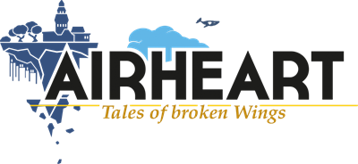 Airheart: Tales of broken Wings - Clear Logo