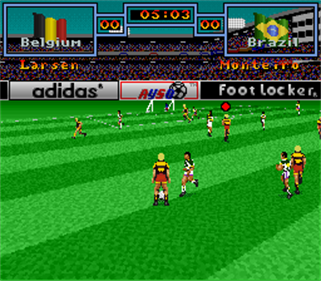 Tony Meola's Sidekicks Soccer - Screenshot - Gameplay