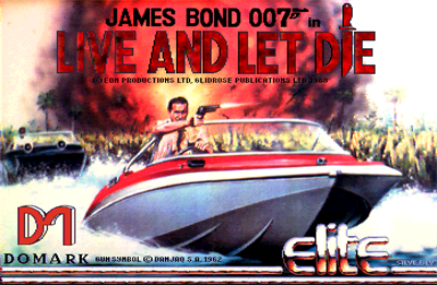 James Bond 007: Live and Let Die: The Computer Game - Screenshot - Game Title