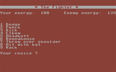 The Fighter - Screenshot - Gameplay
