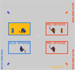 Team Hat Trick - Screenshot - Game Select