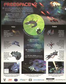 Freespace 2 - Box - Back