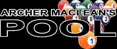 Archer Maclean's Pool - Clear Logo