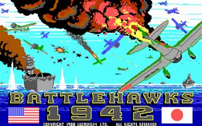 Battlehawks 1942 - Screenshot - Game Title