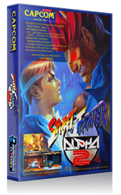 Street Fighter Alpha 2 - Box - 3D
