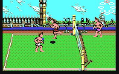 Beach Volley - Screenshot - Gameplay