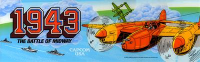 1943: The Battle of Midway - Arcade - Marquee