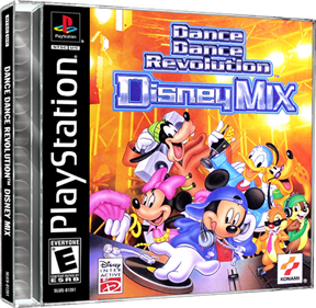 Dance Dance Revolution: Disney Mix - Box - 3D
