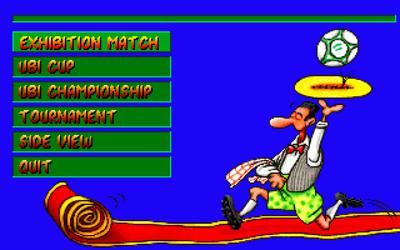 Action Soccer - Screenshot - Game Select