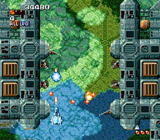 Super Aleste - Screenshot - Gameplay