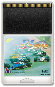 F-1 Dream - Fanart - Cart - Front