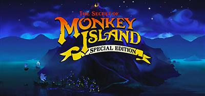 The Secret of Monkey Island: Special Edition - Banner