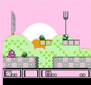 Asmik-kun Land - Screenshot - Gameplay