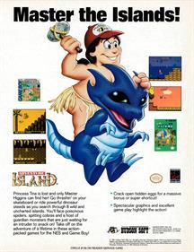 Adventure Island II - Advertisement Flyer - Front