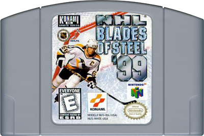 NHL Blades of Steel '99 - Cart - Front