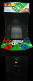 All American Football - Arcade - Cabinet