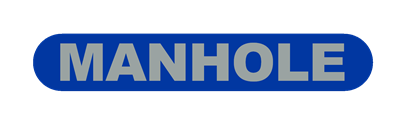 Manhole (New Wide Screen) - Clear Logo