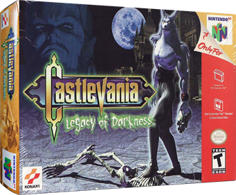 Castlevania: Legacy of Darkness - Box - 3D
