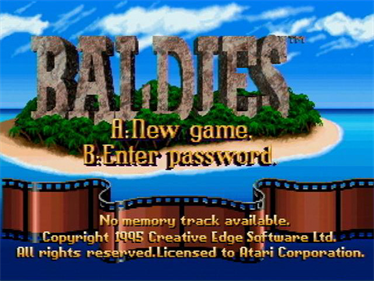 Baldies - Screenshot - Game Title