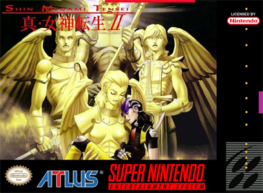Shin Megami Tensei II - Fanart - Box - Front