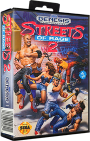 Streets of Rage 2 - Box - 3D