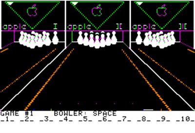 Apple Bowl - Screenshot - Gameplay