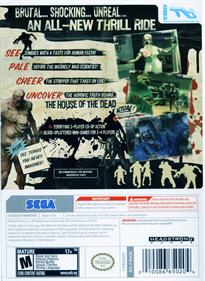 The House of the Dead: Overkill - Box - Back
