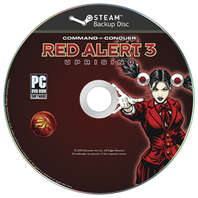 Command & Conquer: Red Alert 3: Uprising - Disc