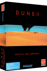 Dune II: The Building of a Dynasty - Box - 3D