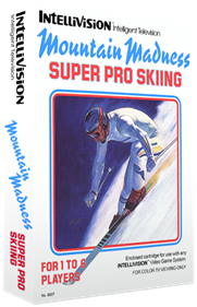 Mountain Madness: Super Pro Skiing - Box - 3D