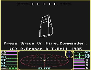 Elite - Screenshot - Game Title