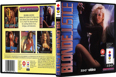 Blonde Justice - Box - 3D