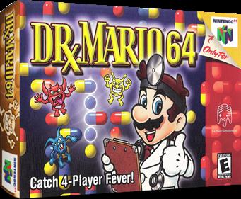 Dr. Mario 64 - Box - 3D