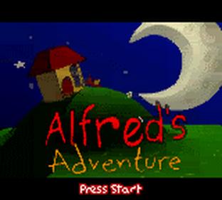 Alfred's Adventure - Screenshot - Game Title