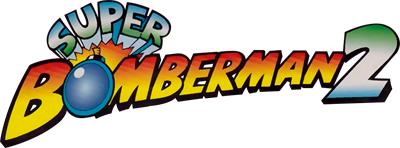 Super Bomberman 2 - Clear Logo