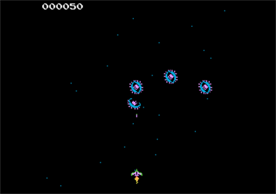 Moon Cresta - Screenshot - Gameplay