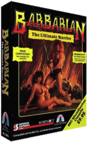 Barbarian: The Ultimate Warrior - Box - 3D