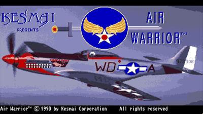 Air Warrior - Screenshot - Game Title