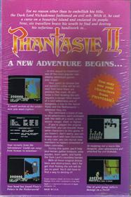 Phantasie II - Box - Back