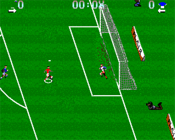 Euro Soccer - Screenshot - Gameplay